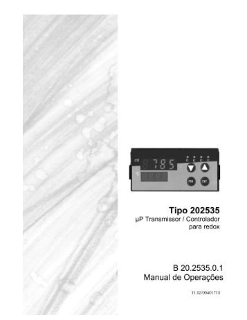 Controlador REDOX 20.2535 Jumo - Digitrol