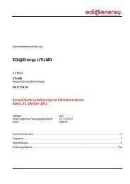 EDI@Energy UTILMD - Edi-energy.de
