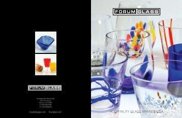 Forum Glass - Hospitality Glass Brands USA