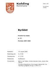Byrådet - Kolding Kommune