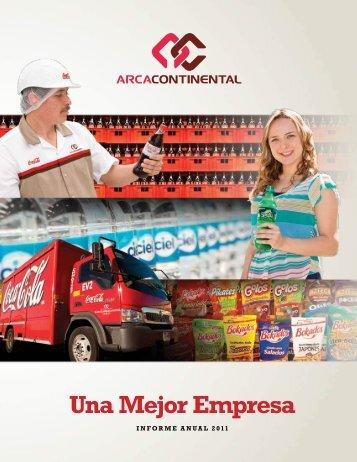 Informe AnuAl 2011 - Arca Continental