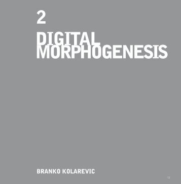 02 Digital Morphogenesis - iMADE