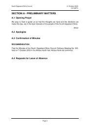 section a - South Gippsland Shire Council