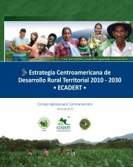 Estrategia Centroamericana de Desarrollo Rural Territorial-ECADERT