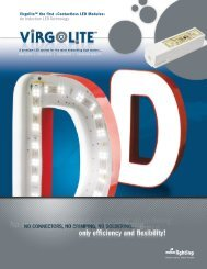 Virgolite™ the first «Contactless LED Modules ... - Future Electronics