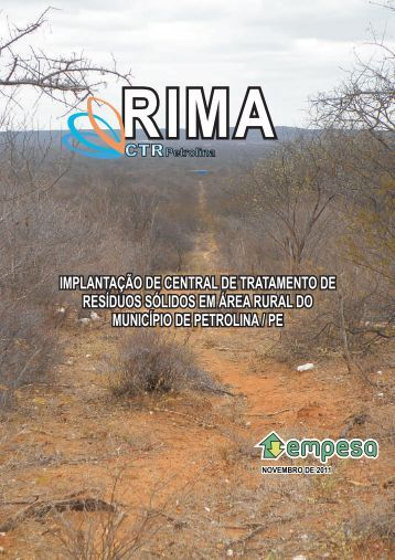 RIMA PETROLINA - VERSÃO FINAL - 01.12.2011 - CPRH