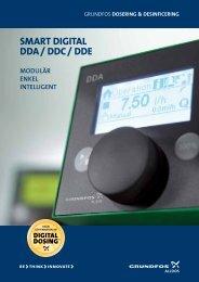 SMART Digital DDA/DDC/DDE doseringspumpar - Grundfos AB