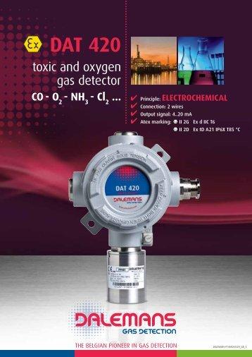 DAT 420 - Dalemans Gas Detection