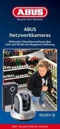 """""""ABUS Netzwerkkameras"""" (8 Seiten)"""