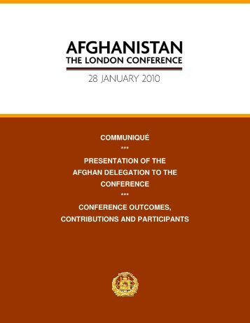 28 January 2010 - Ministry of Foreign Affairs