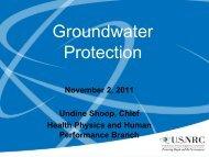 Shoop: Current Groundwater Topics - Blsmeetings.net