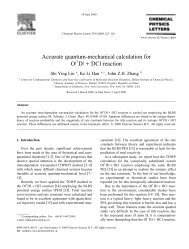 Accurate quantum-mechanical calculation for ž / O D qDCl reaction