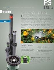 PS Ultra Brochure - Hunter Industries