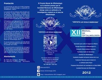 Premiación Atentamente - Sociedad mexicana de Oftalmología