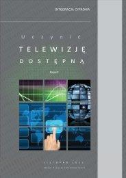Uczynić telewizję dostępną - Krajowa Rada Radiofonii i Telewizji