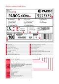 Paroc akmens vatos gaminių kainynas 2012 - Paroc.com - Page 6