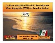 La Nueva Realidad Móvil de Servicios de Valor ... - 4G Americas