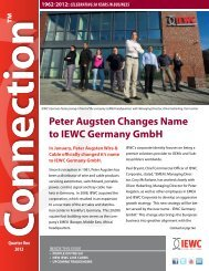 peter augsten changes name to iewc germany gmbh - Iewc.com