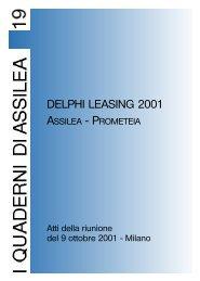 DELPHI LEASING 2001 - Assilea