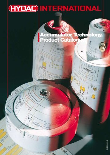 Accumulator Technology. Product Catalogue. - HYDAC Romania