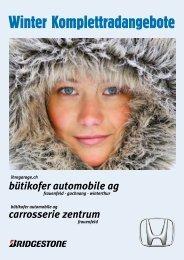 Winter Komplettradangebote - Bütikofer Automobile AG
