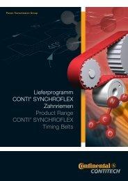 Product Range CONTI® SYNCHROFLEX (PDF, 5 MB)