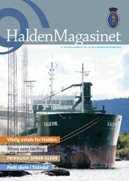 Viktig avtale for Halden Trives som lærling Flott skole i Tistedal - Byline