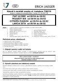 FIAT ULYSSE ab 09/94 bis 08/02 PEUGEOT 806 ab 09/94 bis 08/02 ... - Seite 5