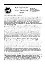 Berichte - SV der Danziger Hochflieger