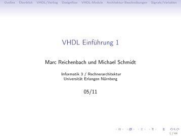 VHDL Einführung 1