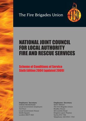 Grey Book - Fire Brigades Union