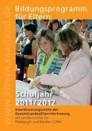 www .eltern.saarland.de Schuljahr - GLEV ...