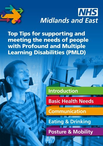 Top Tips for supporting and meeting the needs of people with ...