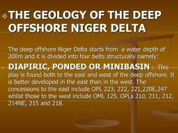 RED ALERT IN THE DEEP OFFSHORE NIGER DELTA - IndigoPool