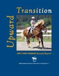 2007-2008 NARHA Annual Report - PATH International
