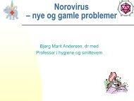 Norovirus – nye og gamle problemer