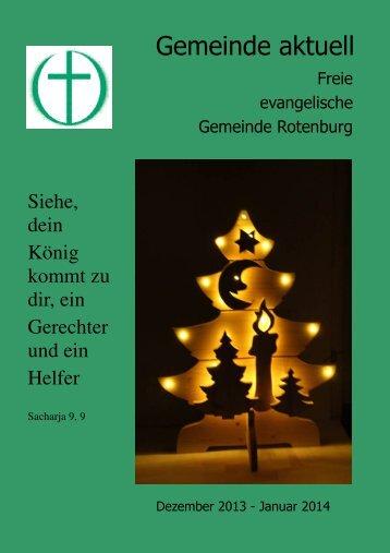 Gemeindebrief Dez.-Jan. 2013.pdf - FeG Rotenburg