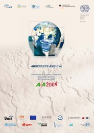 ABSTRACTS AND CVs - ILO Safety Conference 2009