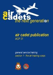 ACP 31 Section 1 - 967 Air Cadets