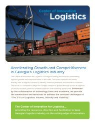 Accelerating Growth and Competitiveness in Georgia's Logistics ...