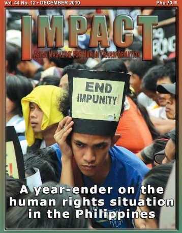 Php 70.00 Vol. 44 No. 12 • DECEMBER 2010 - IMPACT Magazine ...