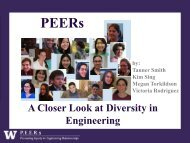 A Closer Look at Diversity in Engineering - College of Engineering