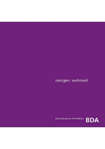 Download - Bund Deutscher Architekten BDA