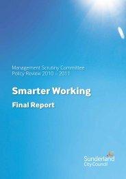Smarter Working - Centre for Public Scrutiny
