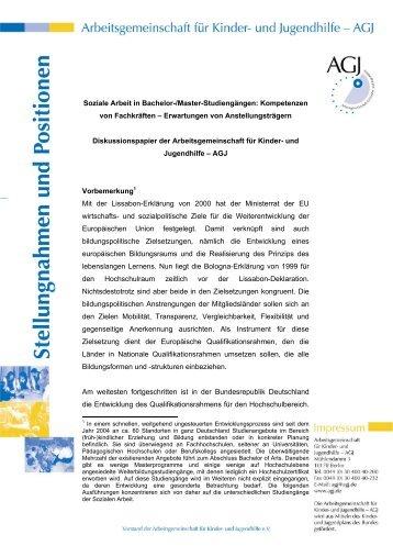 bachelor thesis soziale arbeit themen Katholische hochschule nordrhein-westfalen - abteilung m nster - fachbereich sozialwesen bachelor-thesis im studiengang soziale arbeit experienced involvement.