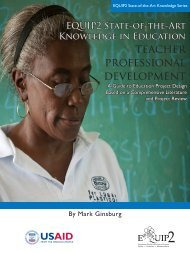 teacher professional development - Education Policy Data Center
