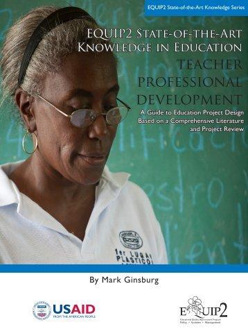 teacher professional development - Education Policy Data Center