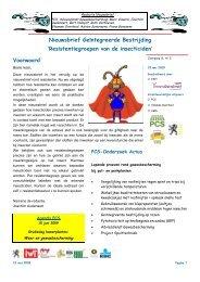 Resistentiegroepen van de insecticiden - PCS