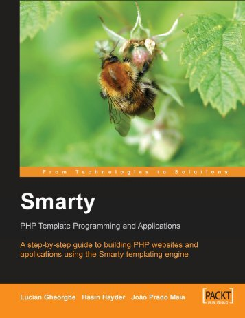 Smarty PHP Template Programming and Applications by Lucian ...