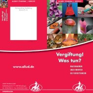 Vergiftung! - Aliud Pharma GmbH & Co. KG